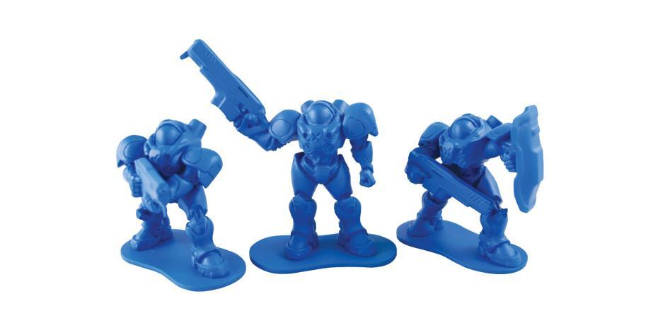 Blizzard Starcraft Marine Little Army Men