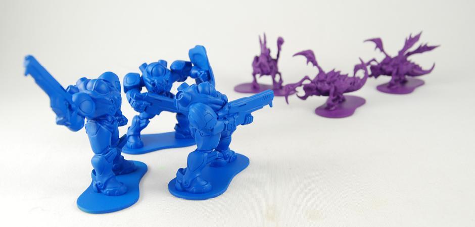 Starcraft 2 Figurines Battling