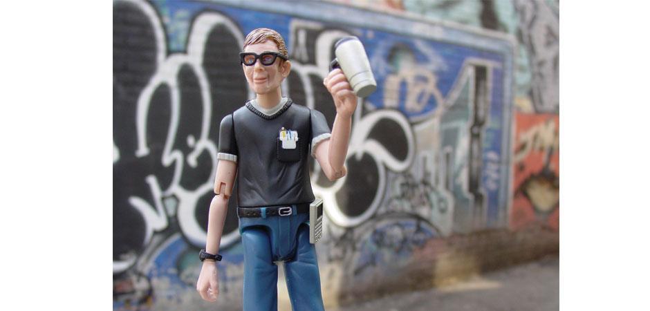GeekMan Action Figure by Happy Worker