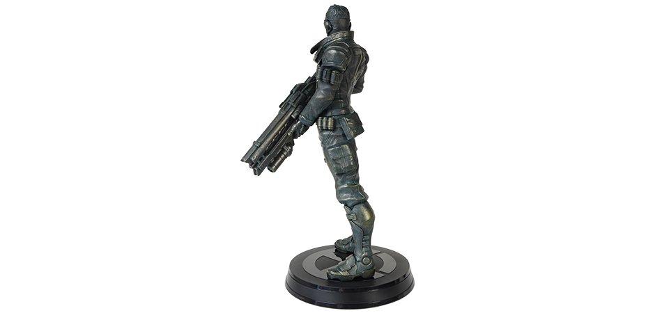 Blizzard Soldier 76 Overwatch Resin Statue Left