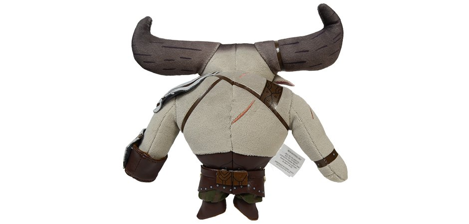 Iron Bull Stuffed Toy