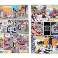 Safeco Action Figures Comic Book
