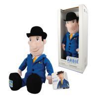 Custom bank mascot stuffed doll
